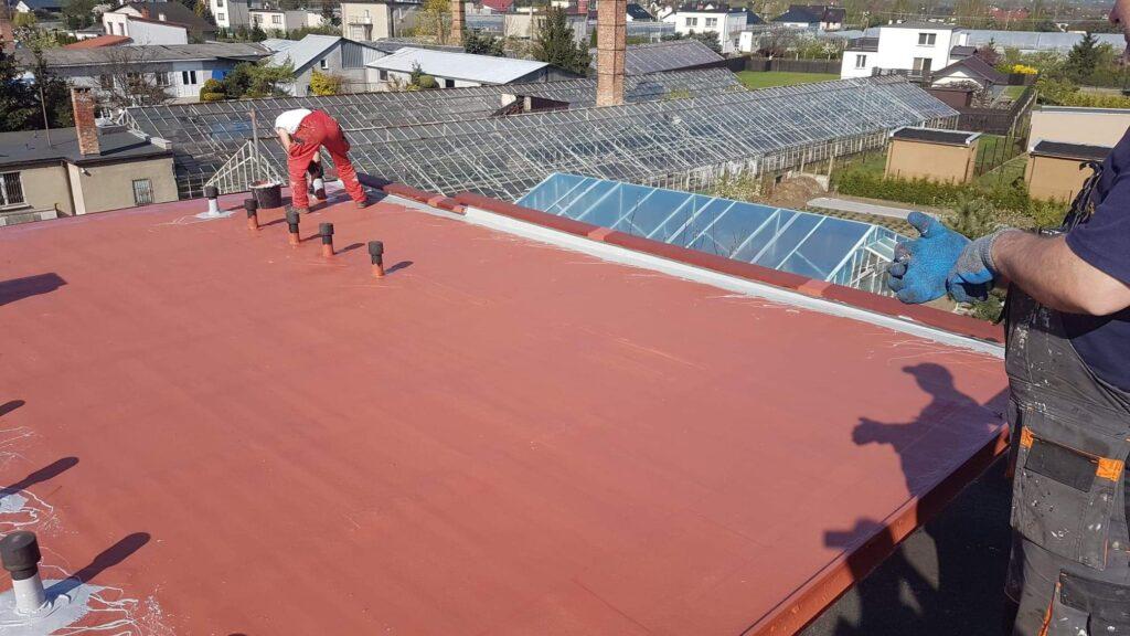 naprawa dachu z papy, remont dachu